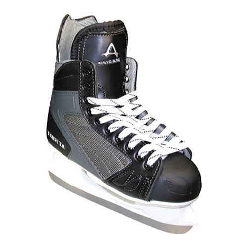 Boys' American 458 Ice Force Hockey Skate Black