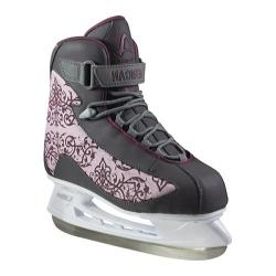 Women's American 540 Softboot Hockey Skate Purple/Grey