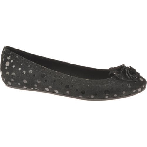 Women's Antia Shoes Abella Black Polka Dot Suede