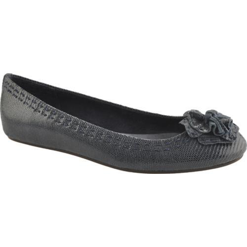 Women's Antia Shoes Abella Navy Fine Lizard