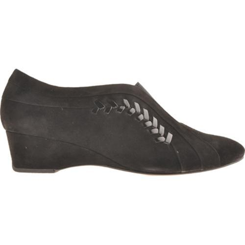 Women's Antia Shoes Cheryl Black Kid Suede/Patent
