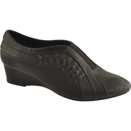 Women's Antia Shoes Cheryl Black Tumbled Calf Toledo