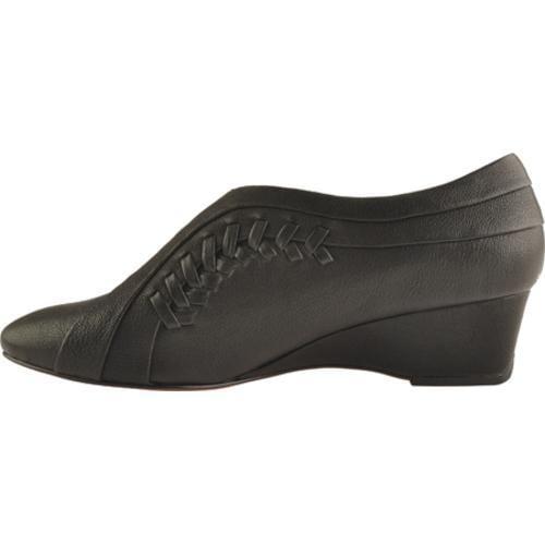 Women's Antia Shoes Cheryl Black Tumbled Calf Toledo - Thumbnail 2