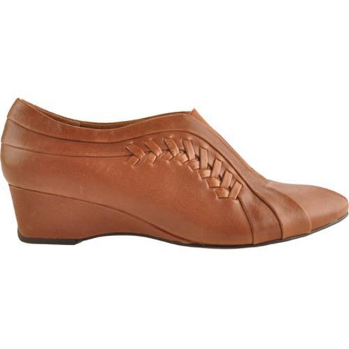 Women's Antia Shoes Cheryl Cognac Tumbled Calf Toledo - Thumbnail 1