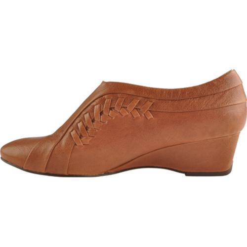 Women's Antia Shoes Cheryl Cognac Tumbled Calf Toledo - Thumbnail 2