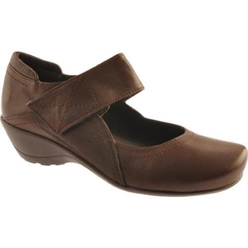 Women's Antia Shoes Erin Mocha Leather