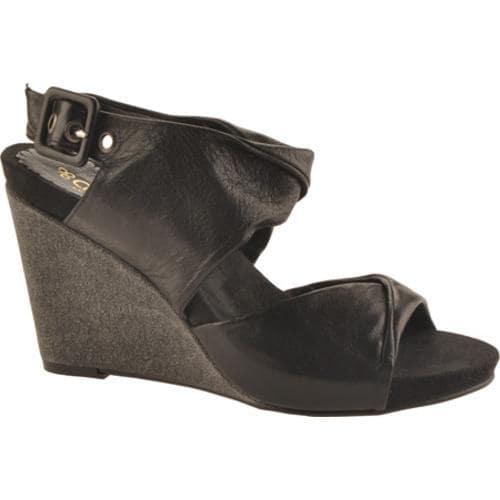 Women's Antia Shoes Geneva Black Full Grain Waxy Light Leather