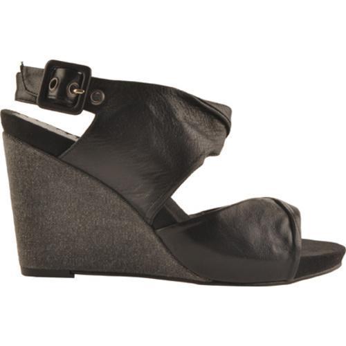 Women's Antia Shoes Geneva Black Full Grain Waxy Light Leather - Thumbnail 1
