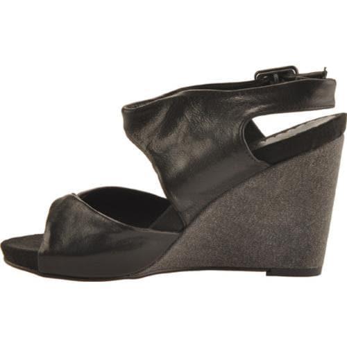 Women's Antia Shoes Geneva Black Full Grain Waxy Light Leather - Thumbnail 2