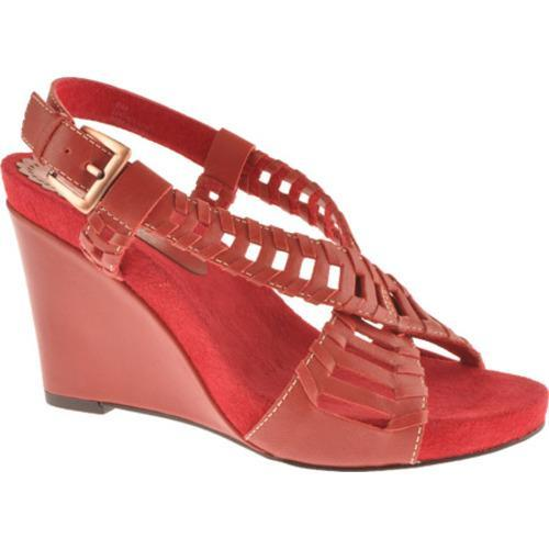 Women's Antia Shoes Giullietta Red Soft Calf