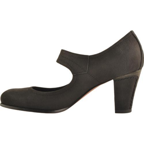 Women's Antia Shoes Maribel Black Calf Tumbled Nubuck - Thumbnail 2