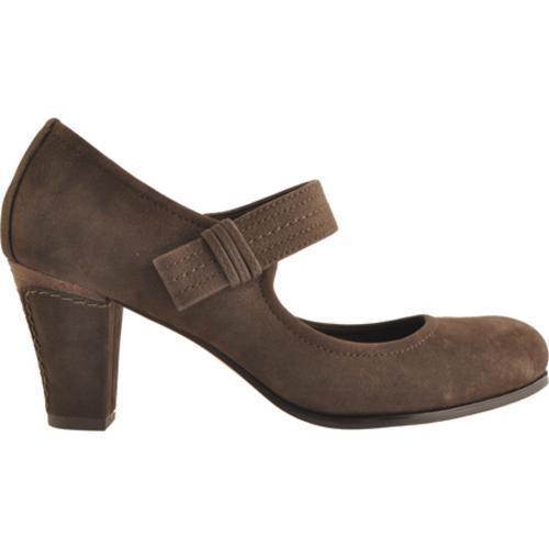 Women's Antia Shoes Maribel Mocha Calf Tumbled Nubuck - Thumbnail 1