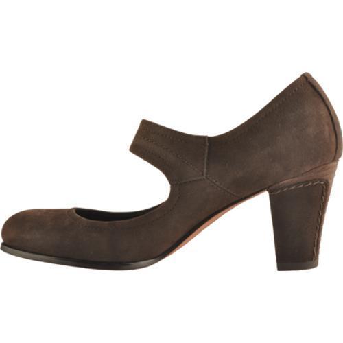Women's Antia Shoes Maribel Mocha Calf Tumbled Nubuck - Thumbnail 2