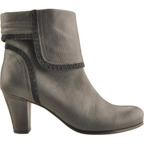 Women's Antia Shoes Marina Black Vintage Full Grain Embossed - Thumbnail 1