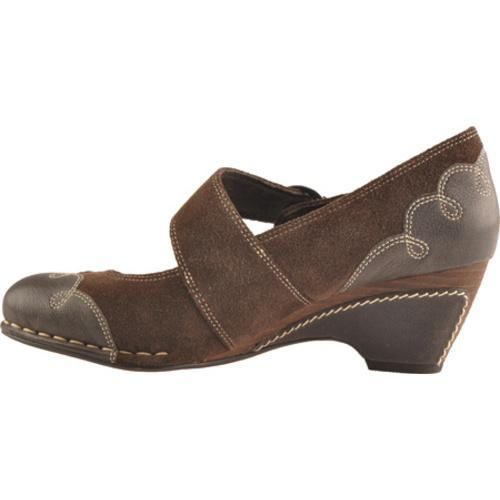 Women's Antia Shoes Renee Mocha Vintage Full Grain/Cow Suede