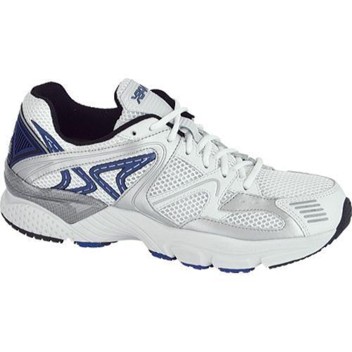 Men's Apex Boss Runner White/Silver/Blue