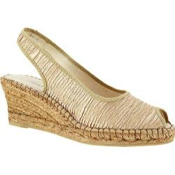 Women's Azura Jeanette Beige Textile (More options available)