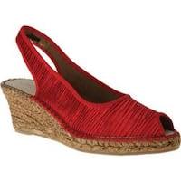 Women's Azura Jeanette Red Textile