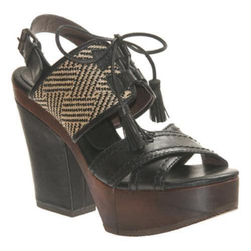Women's Bacio 61 Soffio Black Leather