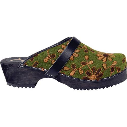Cape Clogs Olive Green