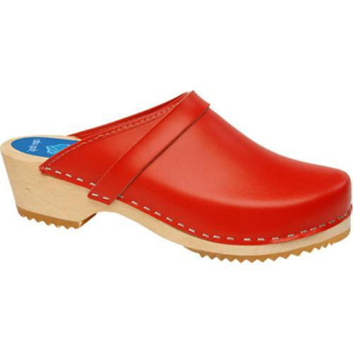 Cape Clogs Solids Holiday Red