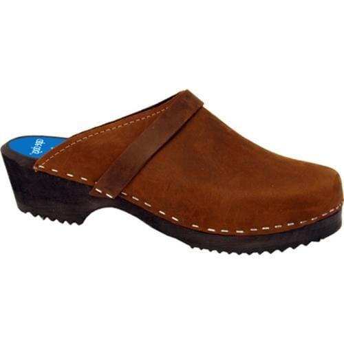 Cape Clogs Solids Brown Nubuck