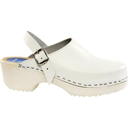 Cape Clogs Solids Adjustable Solid White