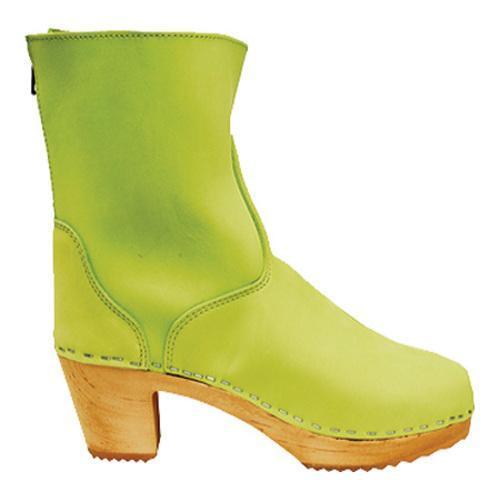 Women's Cape Clogs Vasa Lime Leather