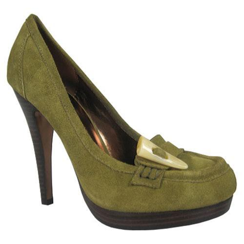 Women's Charles by Charles David Clasp Khaki Suede