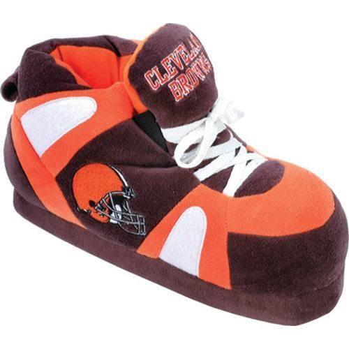 Men's Comfy Feet Cleveland Browns 01 Brown/Orange