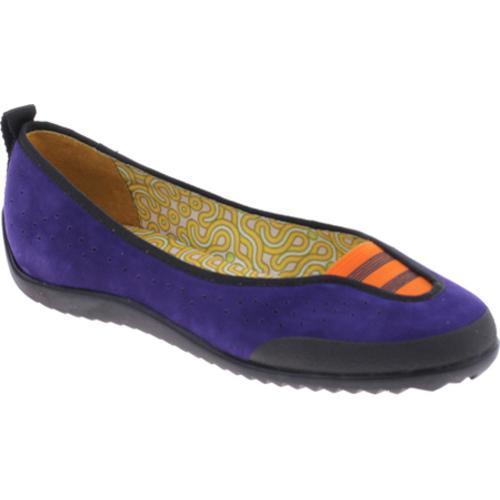 Women's dimmi Learn Purple Leather