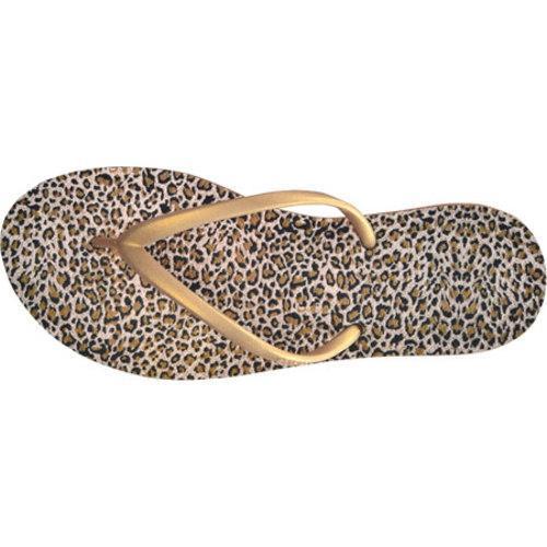 Women's Dupe Exotica (2 Pairs) Caramel/Leopard