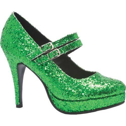 Women's Ellie Jane-G-421 Green Glitter