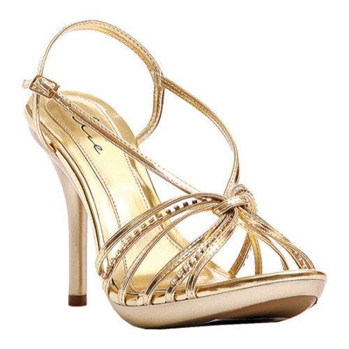 Women's Ellie Knot-431 Gold PU