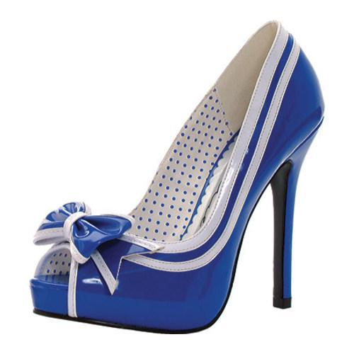Women's Ellie Siren-518 Royal Blue PU - Thumbnail 1