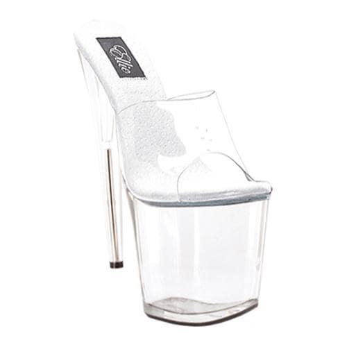Women's Ellie Vanity-850 Clear/Clear PU