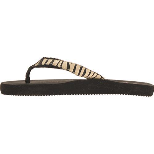 Women's Fishin' Chix Sandal Zebra/Rubber/Grosgrain