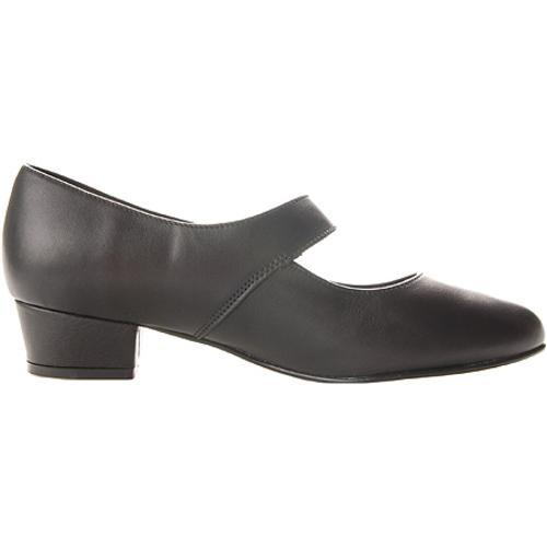 Women's FootThrills Tasha Black Leather - Thumbnail 1