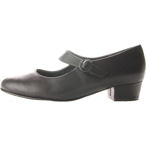 Women's FootThrills Tasha Black Leather - Thumbnail 2