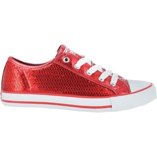 Women's Gotta Flurt Disco Red Textile/Sequin - Thumbnail 1