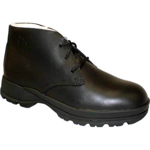 Men's Iceboaters Winter Harbor Black Leather