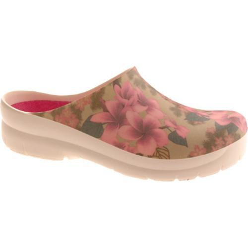 Women's Jollys Picture Clog Plumeria Pink