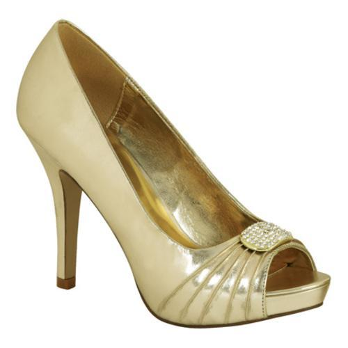 Women's Lava Shoes Dani Gold Metallic Polyurethane