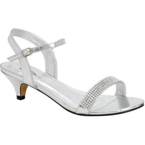 Women's Lava Shoes Diane Silver Metallic