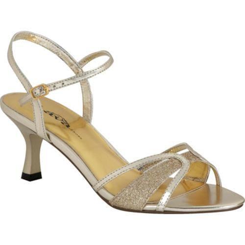 Women's Lava Shoes Nikki Gold Polyurethane
