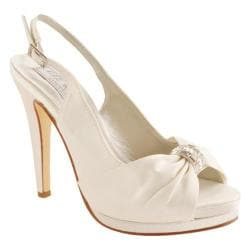 Women's Liz Rene Danielle White Silk Satin