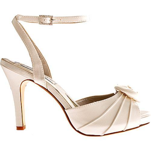 Women's Liz Rene Rose White Silk Satin - Thumbnail 1
