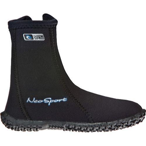 Children's NeoSport Wetsuits 5mm Hi-Top Boot Black