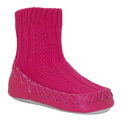 Women's Nowali Cable Knit Moccasin Fuchsia
