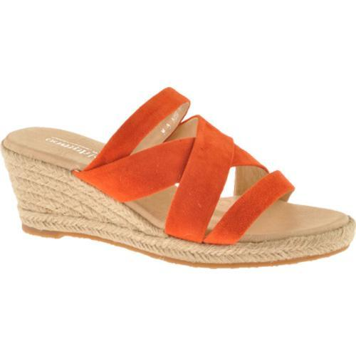 Women's Oomphies Lady Strappy Orange Suede